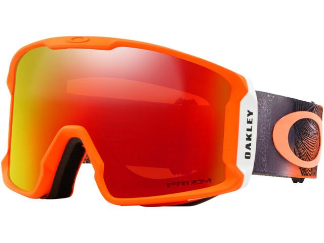 56f6ff4ed5a5a Oakley Line Miner - Lunettes de protection - rouge Multicolore sur ...